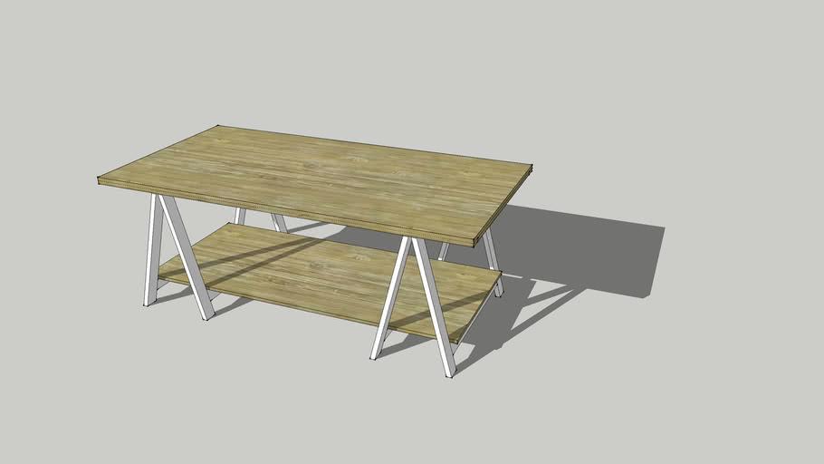 책상,서재, Table, 쏘홀스, 테이블