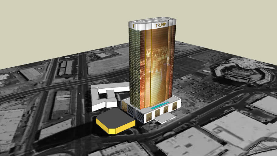 Trump International Hotel and Tower Las Vegas Complete Layout