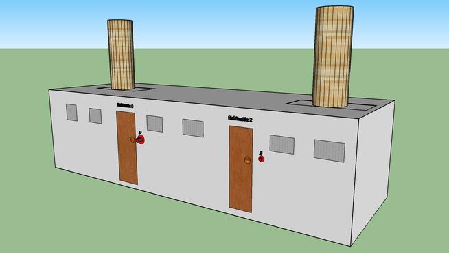 Pol - Creacions - Mini barraques per a models de SketchUp