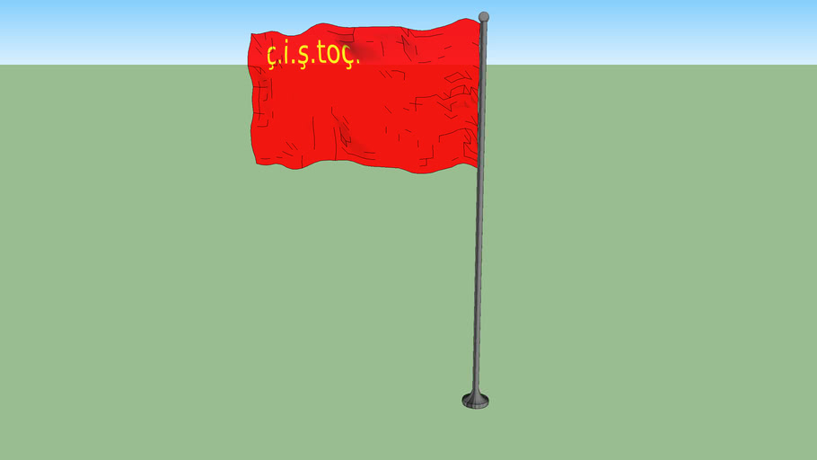 First flag of the RSS Tagika (1931-1935)