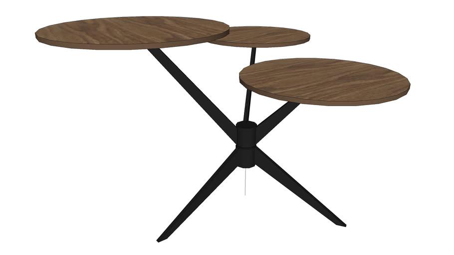 82151 Coffee Table Bonsai Tre Walnut