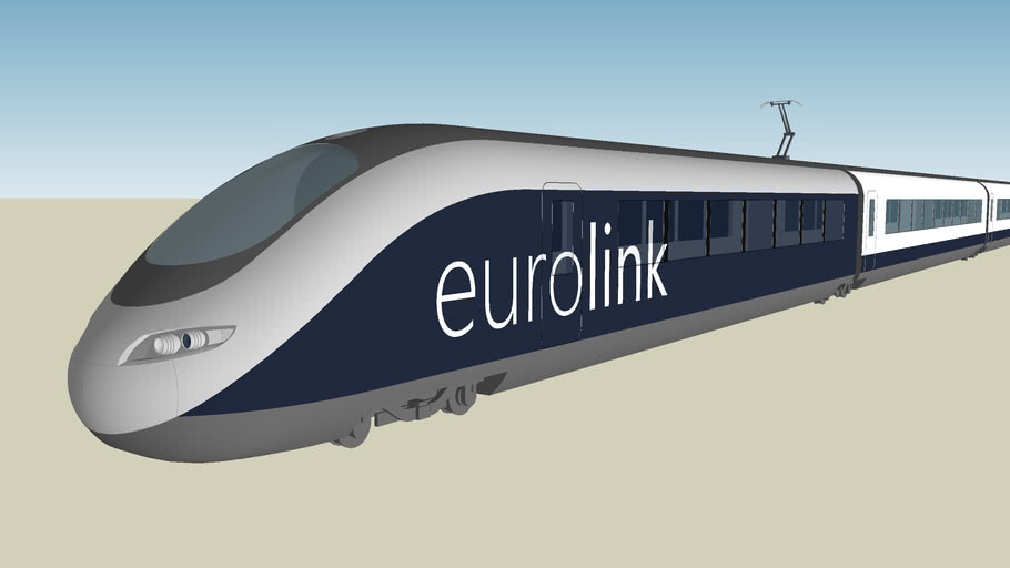 Eurolink XCR High Speed Train