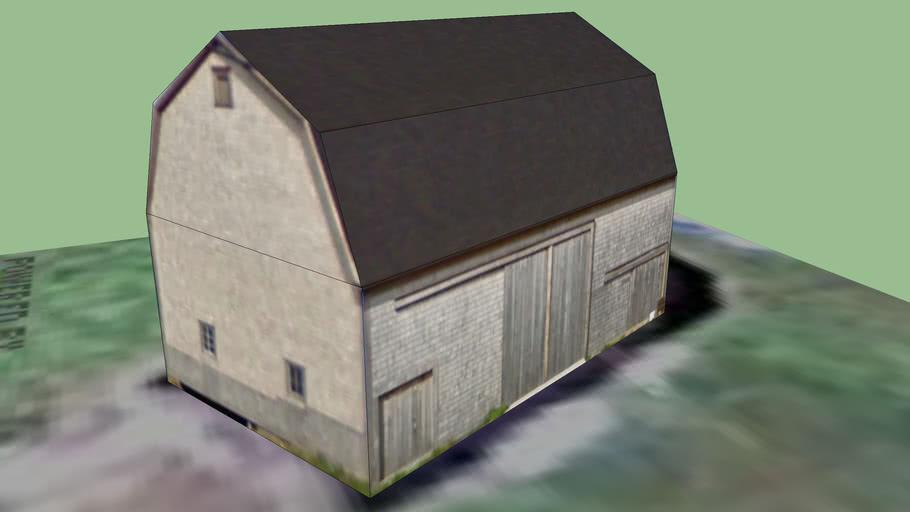 an old barn