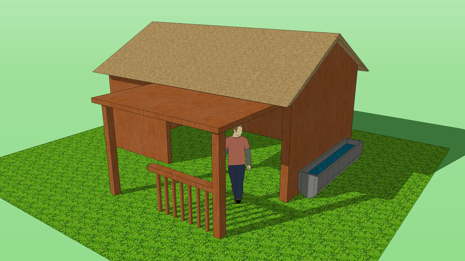 wooden stable !
