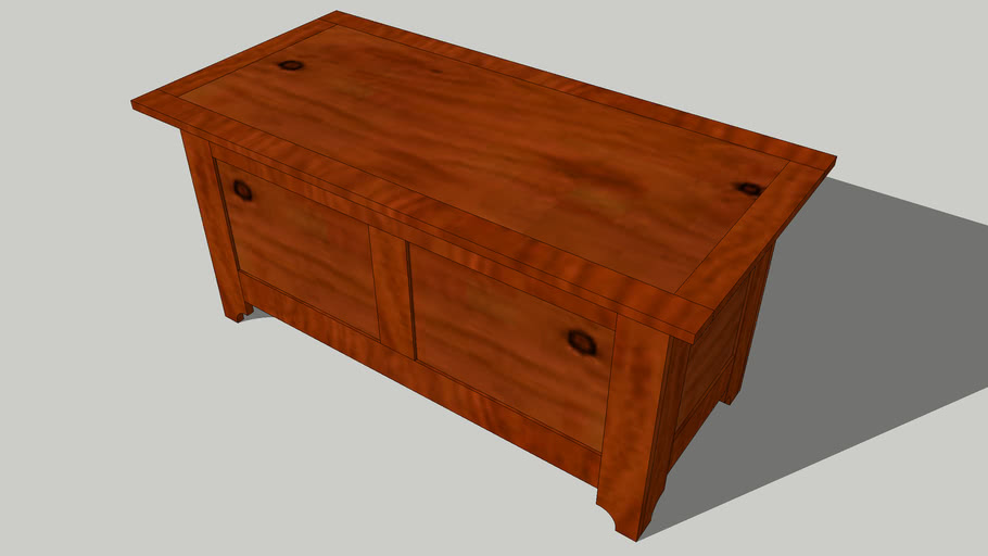 Simple Blanket Chest