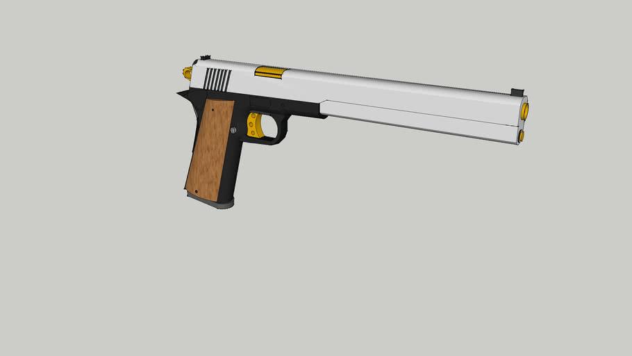 its a custom model 1911 :)