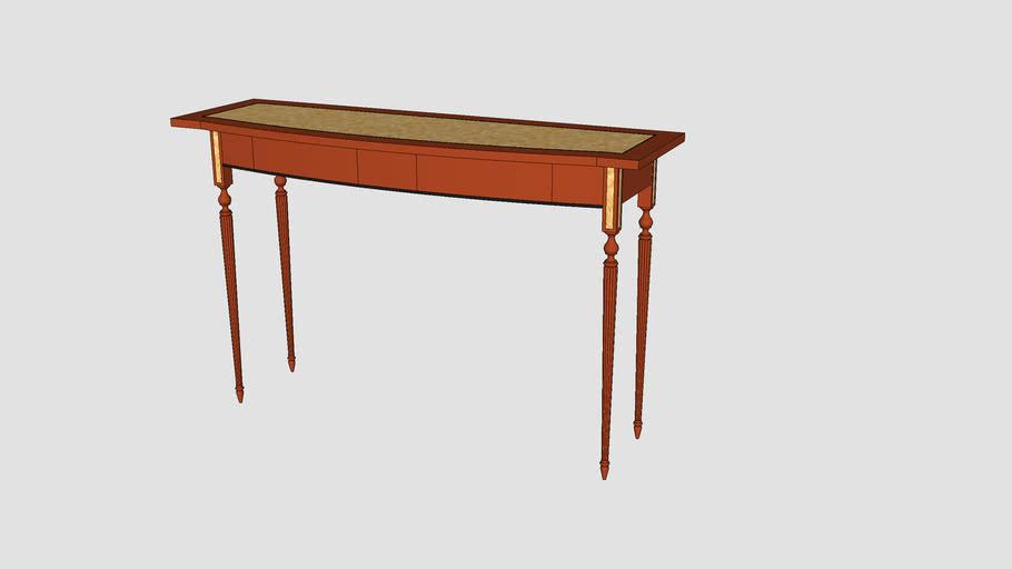 Sheraton-style sofa table
