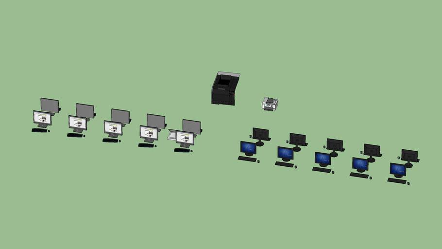 Computers Team 3D