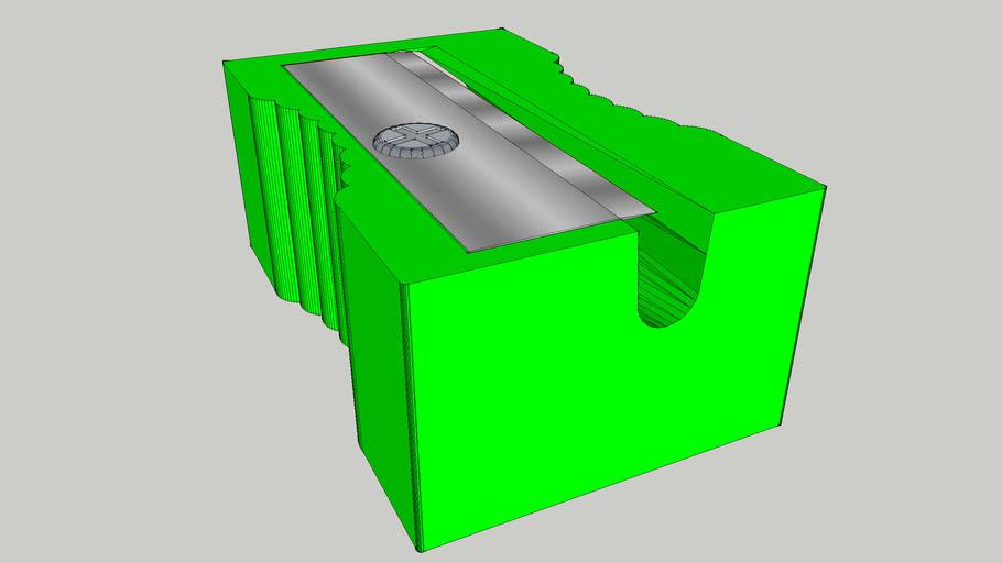 Classic Simple Green Sharpener