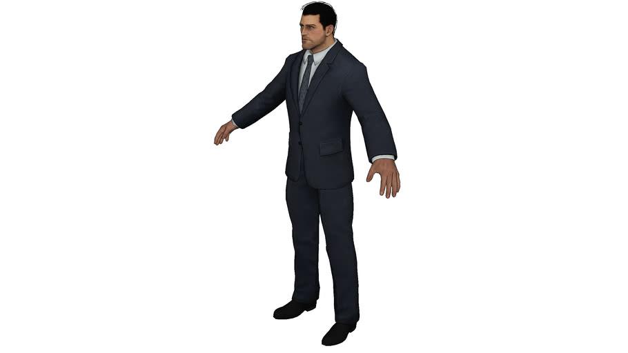Bruce_Wayne - the Suit