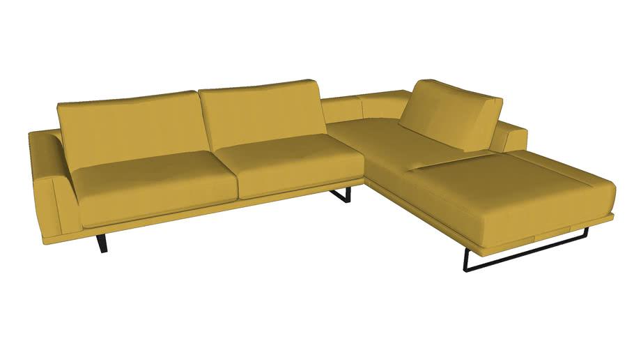 Natuzzi Tempo Sofa 2834