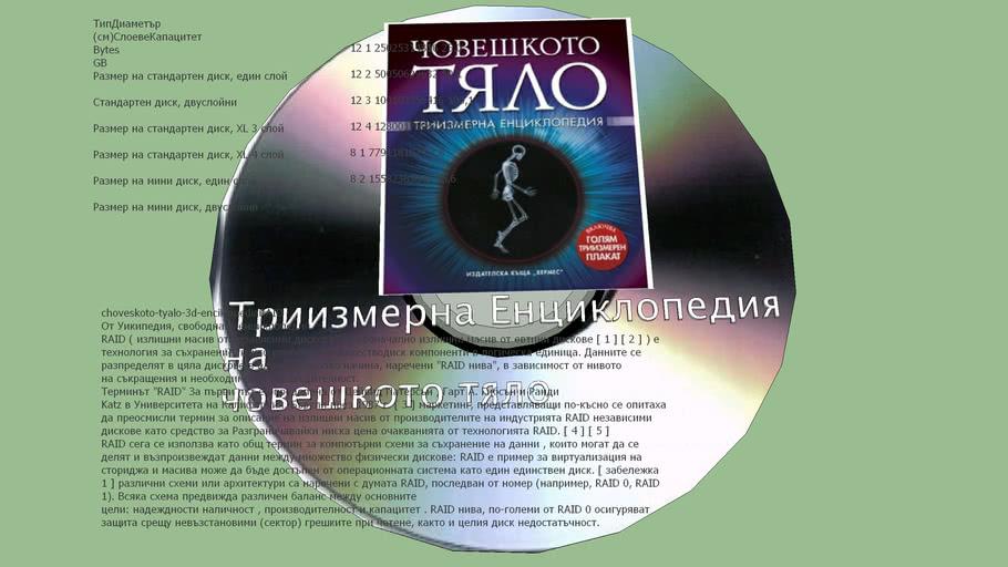 CD DVD BR Disk Sokrat