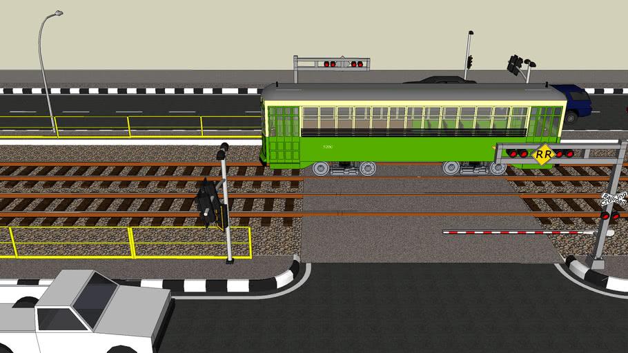 Tram area