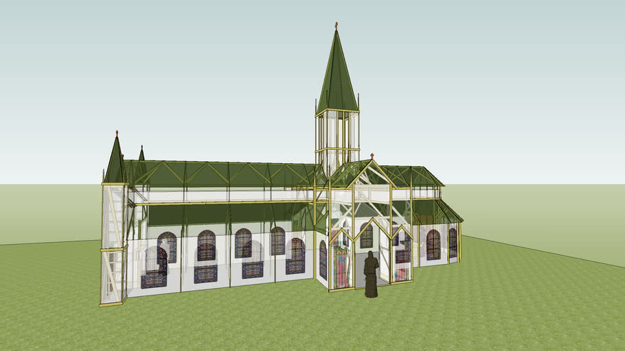 Saint James Cathedral, second draft