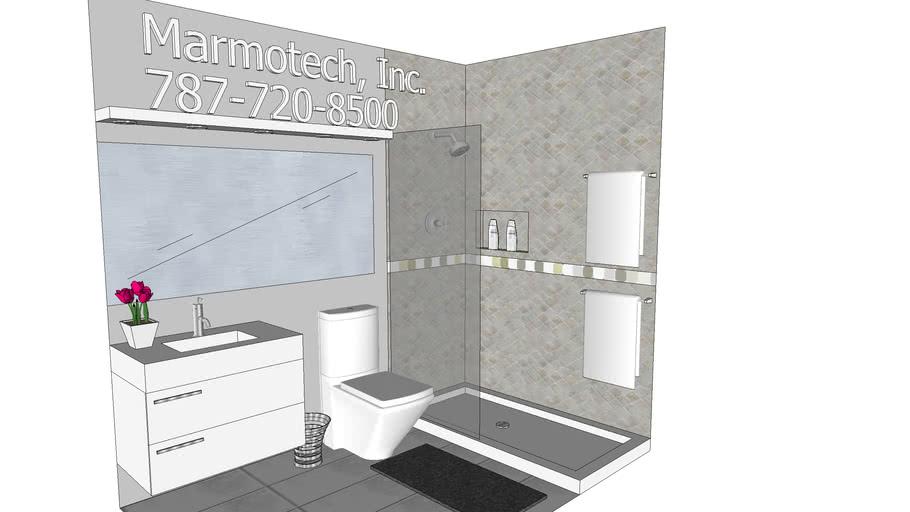 5x8 Bathroom 3d Warehouse