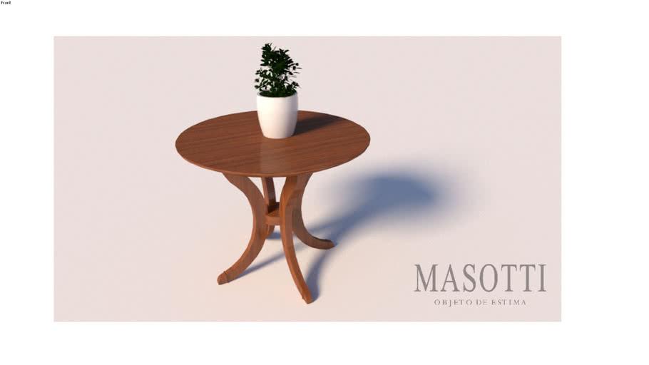 Mesa auxiliar Coleção Masotti MAS.388.0 F15