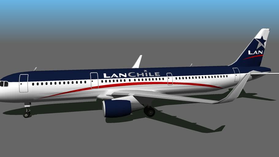 Lan Chile - Airbus A321-211 [FICTIONAL]