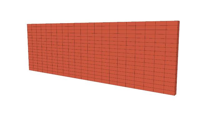 Masonry Brick Low Poly