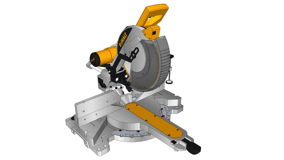 DW718_12 Inch_Double Bevel Sliding Compound Miter Saw