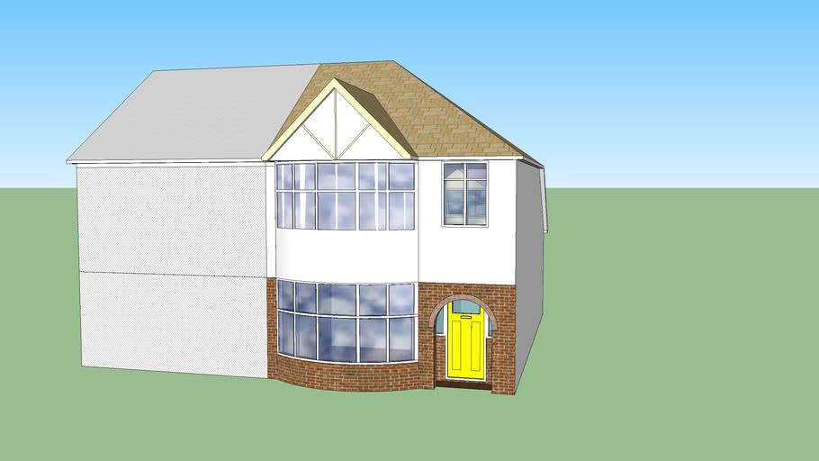 1930 semi detached house (UK)