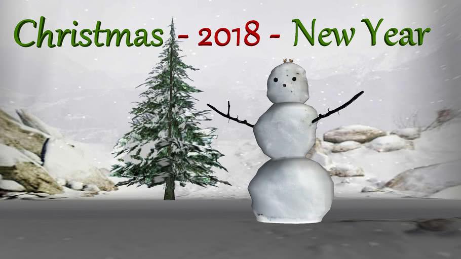 Christmas ─ Happy New Year ─ 2018