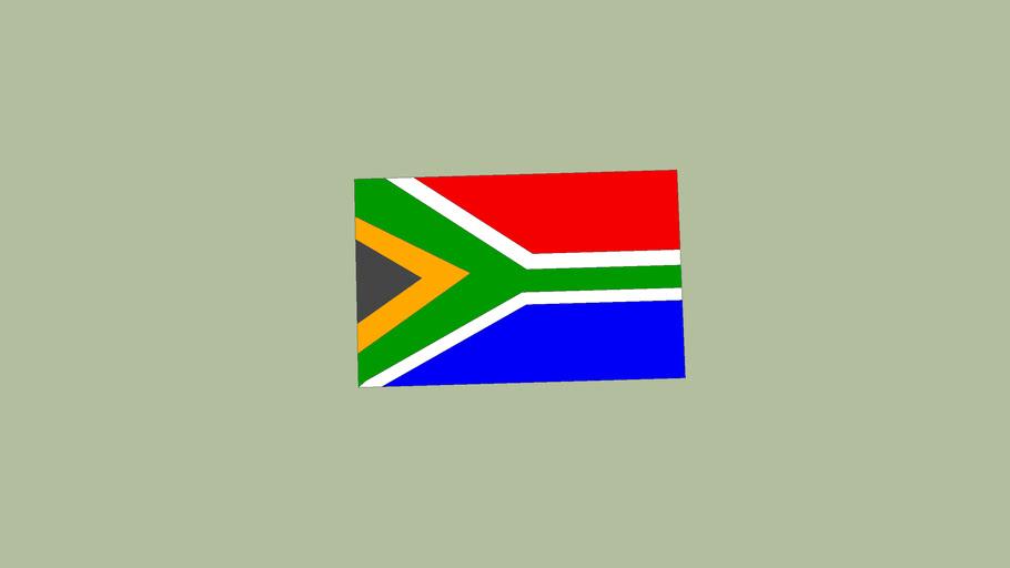 vlag zuid - afrika