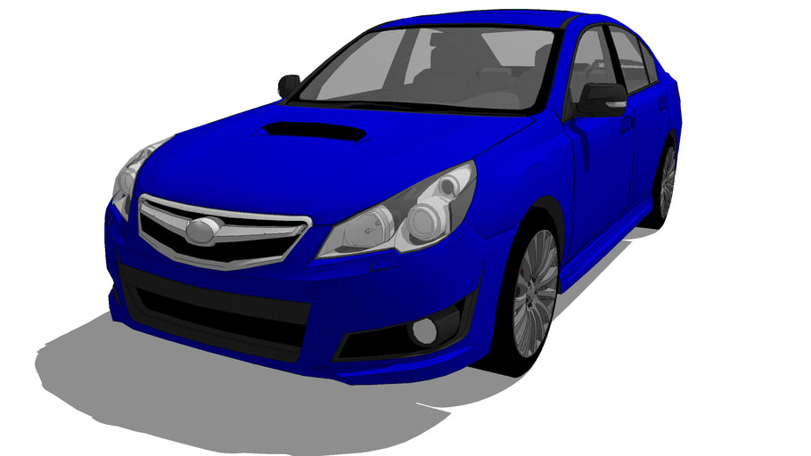 Fahrzeuge - Subaru Legacy BM B4 2.5GT tS tuned by STi