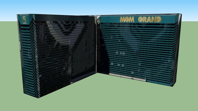 MGM Grand Las Vegas Building Maker