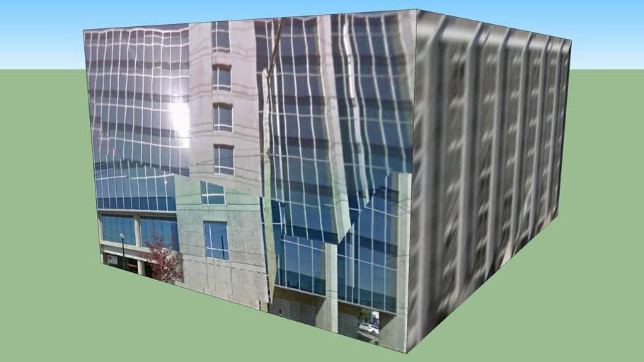 Building in Vancouver, BC, Canada