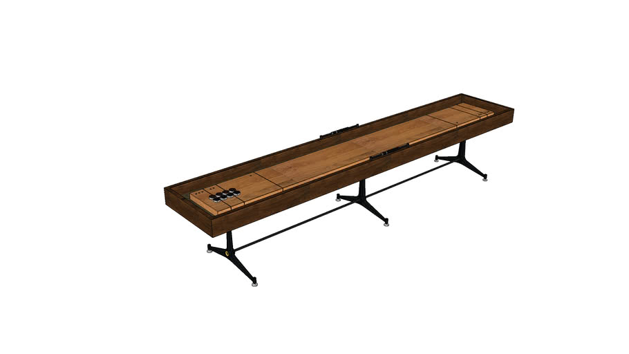 SHUFFLEBOARD TABLE LARGE MKO4001-L