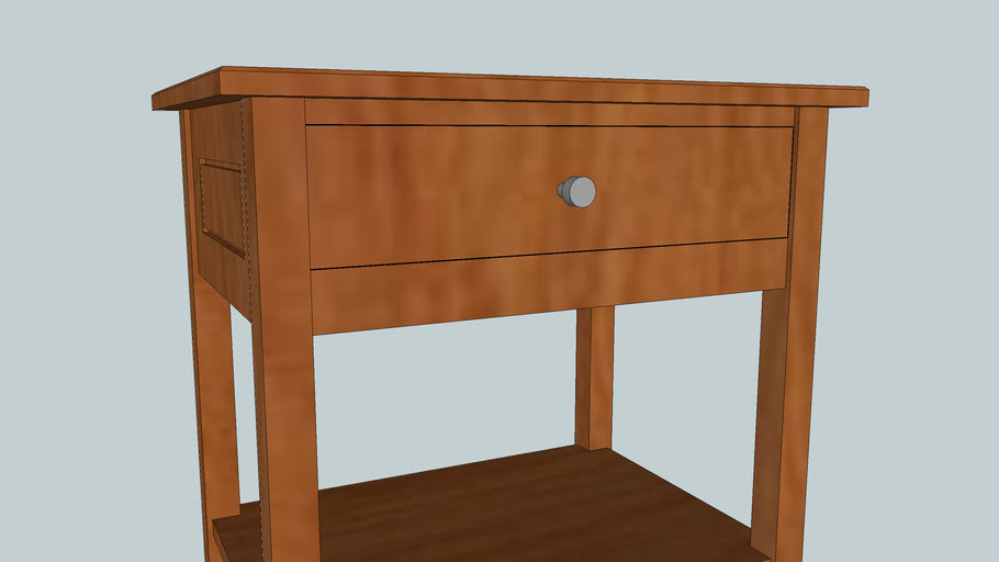 Bedside table concept