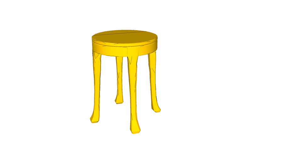 Raw Side Table by Muuto - designed by Jens Fager