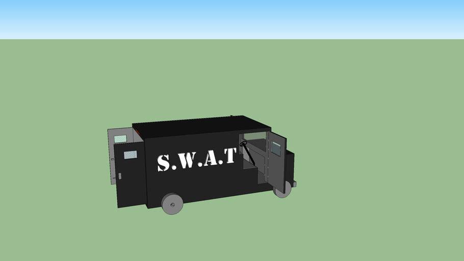 Camión S.W.A.T para niños