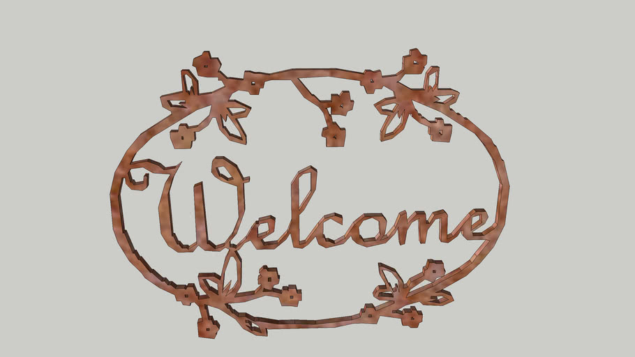 louric welcome sign