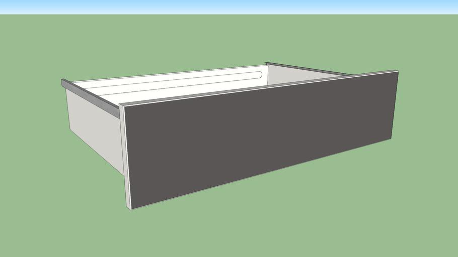 IKEA SKATVAL drawer 80x55