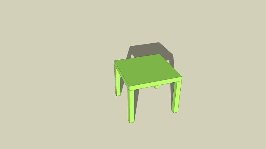 LACK (Beistelltisch), grün