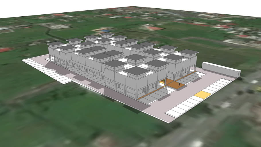Commercial Complex Albay 2018 06 16 Draft Massing and Circulation