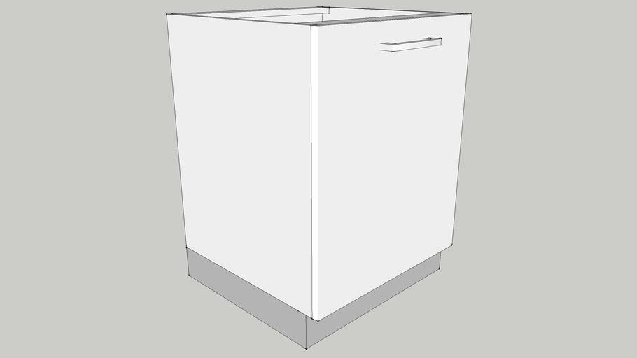 600 Base Hob Module with One Shutter One Shelf 600X560X700 CID_CP10000021