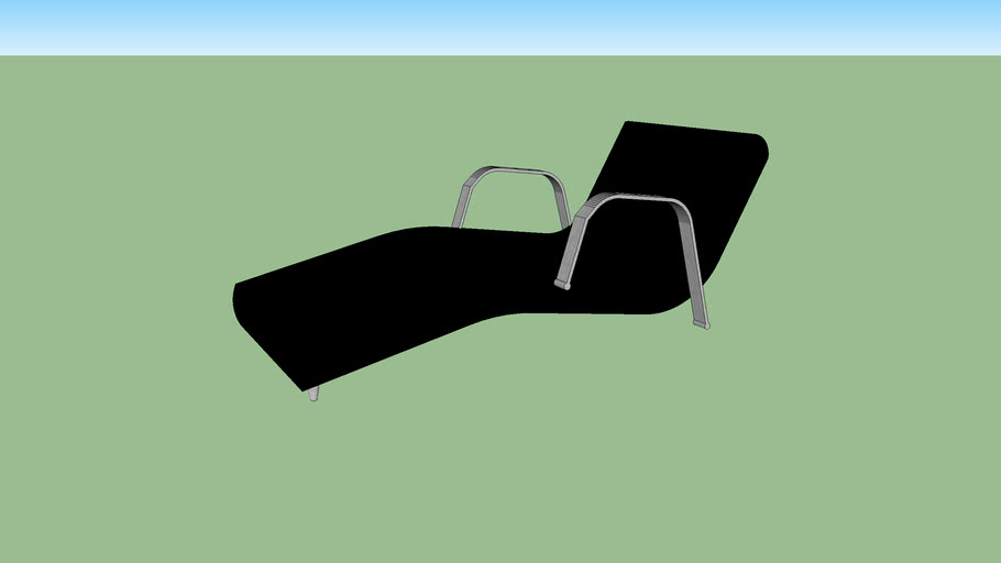 CHAISE COURO