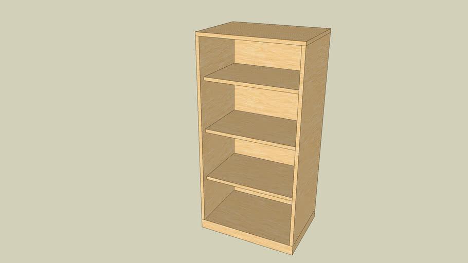 Kleines Büchergestell (little bookcase)