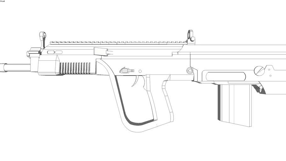 RPS type 56 asslaut rifle