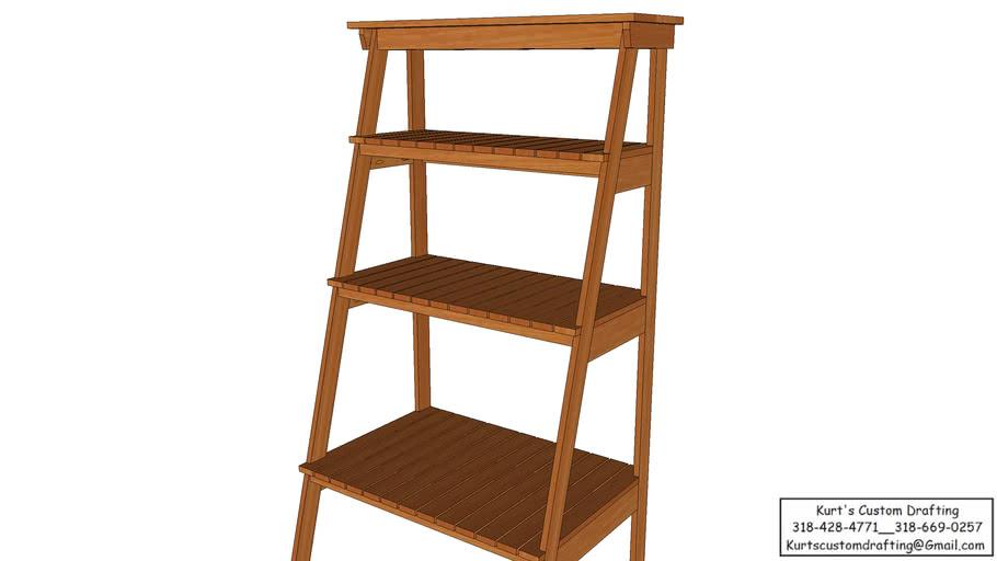 Ladder-Style Baker's Rack