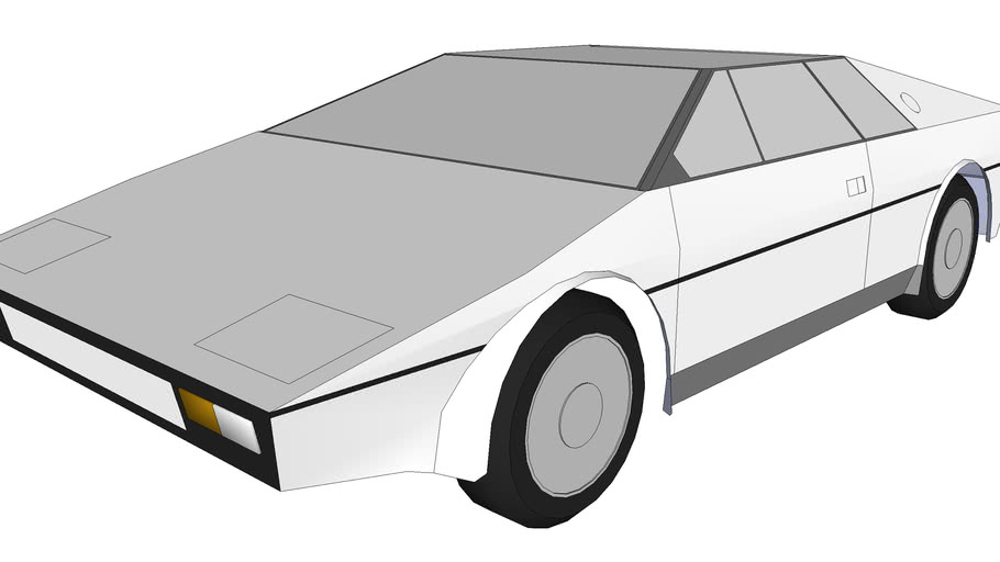 Lotus Esprit s1, The Bond Car (low low low polygon)