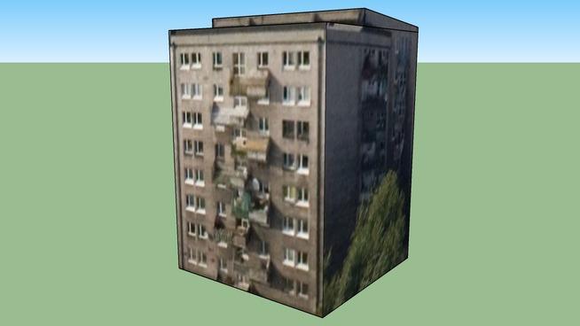 Building in Warszawa, Poland