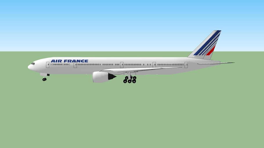 Air france, boeing 777-300