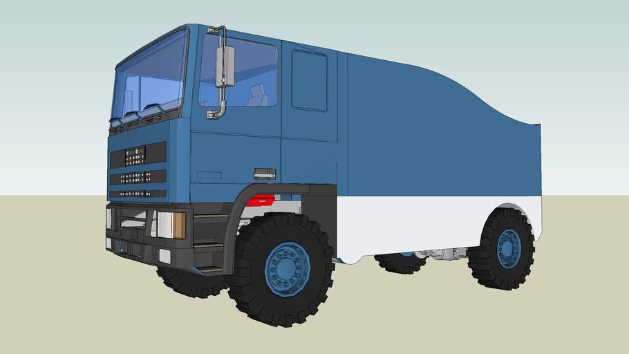 Rally truck de Rooy