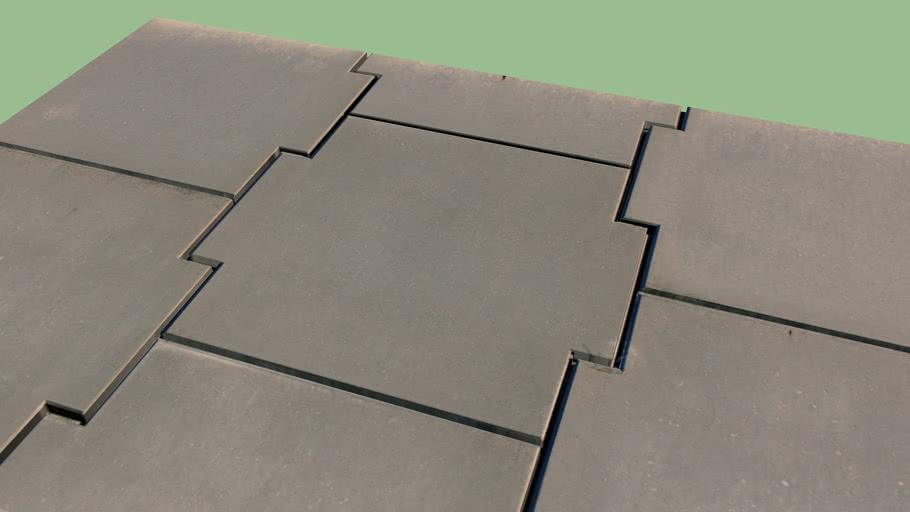 Metal Plate 3D Texture