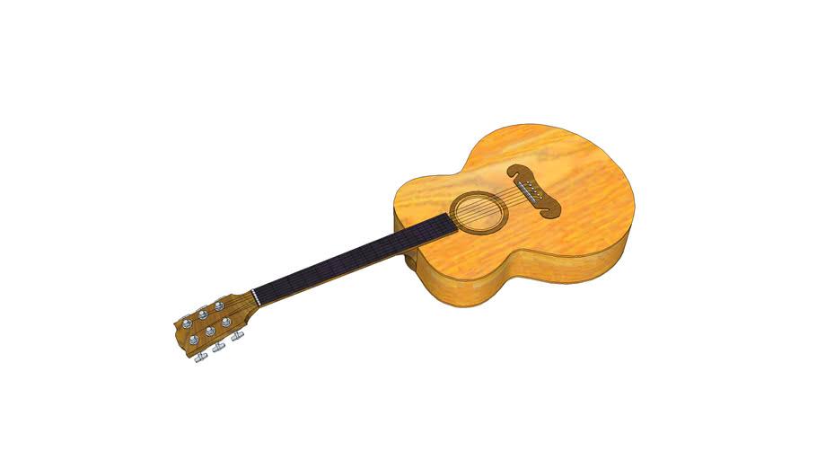 acoustic guitar (breakable)