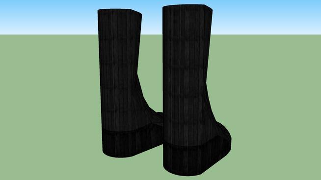 Goth Platform Boots