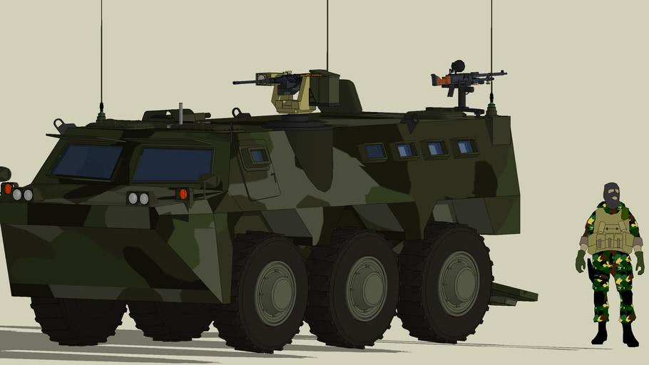 Pindad ANOA Armoured Personnel Carrier